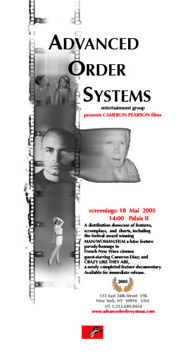 Image of flyer for Advanced Order Systems featuring Cameron Pearson